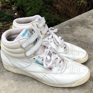 Vintage Reebok Classic Hightop Sneakers Size 7